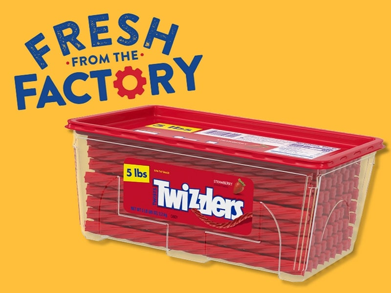 Twizzlers Fresh From The Factory