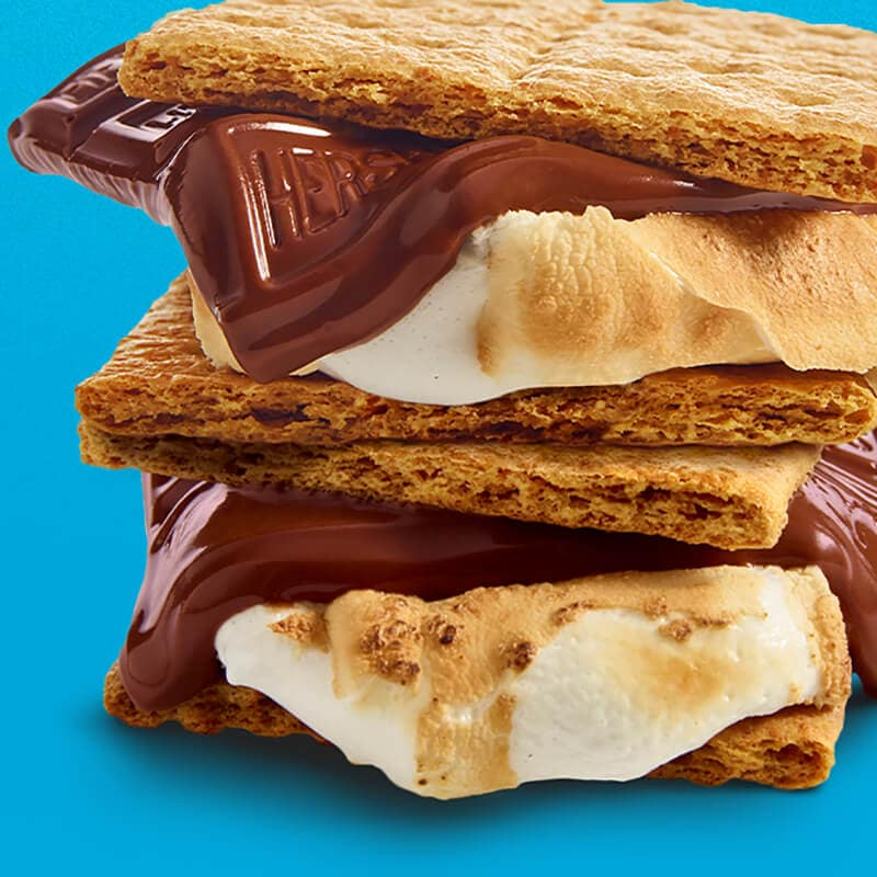 HERSHEY'S S'mores Melted