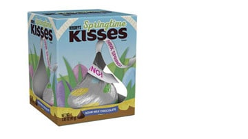 Introducing KISSES Milk Chocolate Springtime