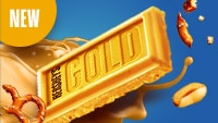 Introducing HERSHEY'S GOLD Bars