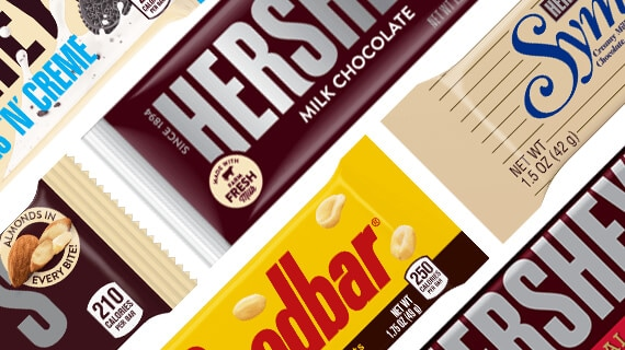 HERSHEY'S Milk Chocolate Bar Assortment
