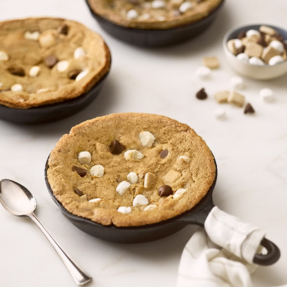 S'mores Pieces Skillet Cookies