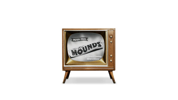 1950 Peter Paul Pixies TV Commercial for MOUNDS Candy Bar
