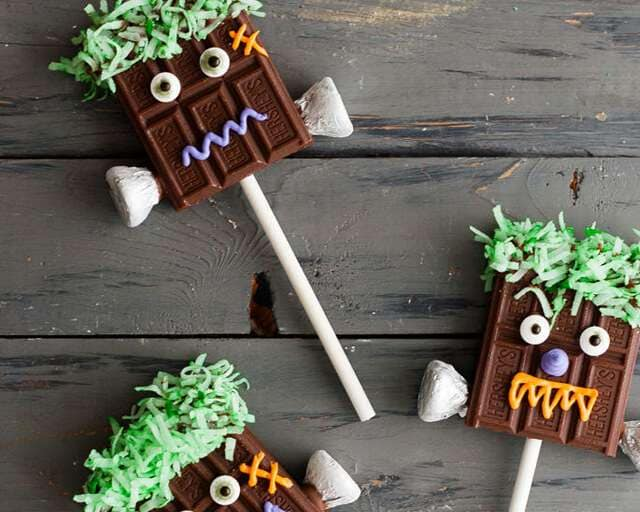 Chocolate Monster Pops