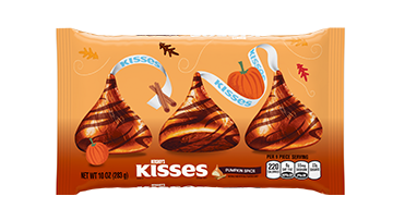 KISSES Fall Harvest Pumpkin Spice Candies