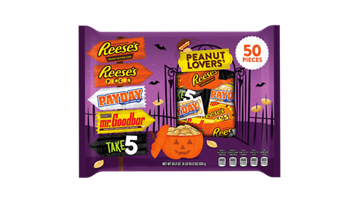 HERSHEY'S Assortment, Peanut Lover, SS 50CT