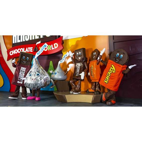 Hershey's Characters