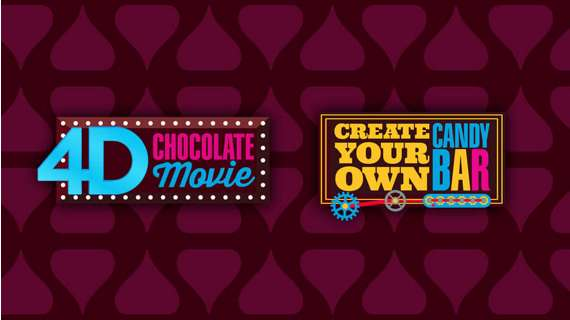 Adventure 3, 4D chocolate movie, create your own candy bar