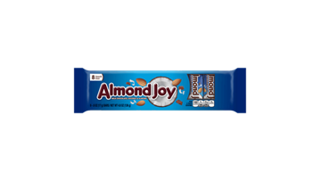 ALMOND JOY Snack Size Candy Bars, 8-Pack, 4.8-Ounce