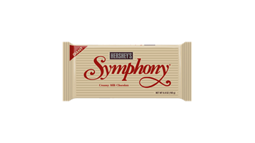 HERSHEY'S SYMPHONY Milk Chocolate Giant Bar, 6.8-Ounce Bars