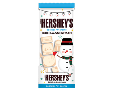 HERSHEY'S Cookies 'n' Creme Build-A-Snowman