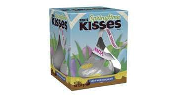 KISSES Springtime Milk Chocolate