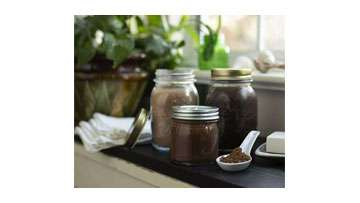 Homemade Mocha Sugar Scrub