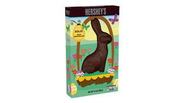 HERSHEY'S Solid Milk Chocolate Bunny
