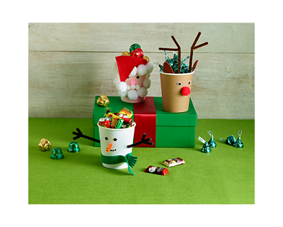 Holiday Candy Cups Craft