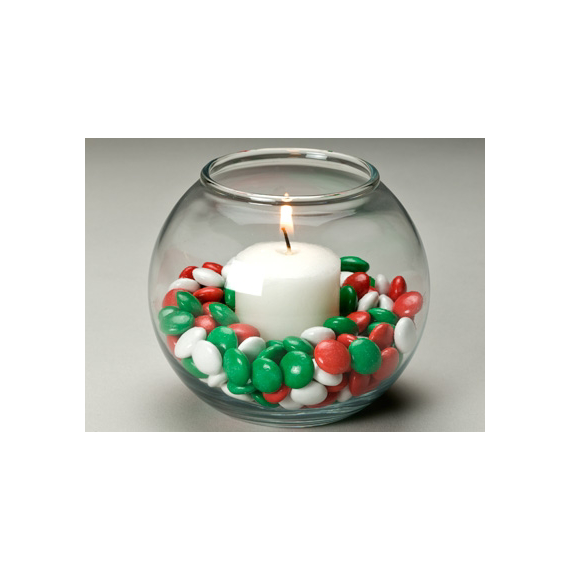 REESE'S Pieces Holiday Votive Craft