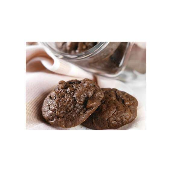 Reduced-Sugar Chocolate Chocolate Chip Cookies Recipe