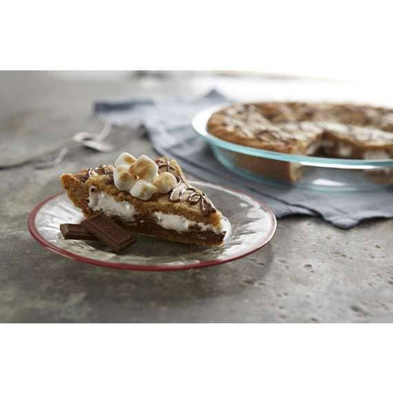 HERSHEY'S S'MORES Blondie Pie Recipe
