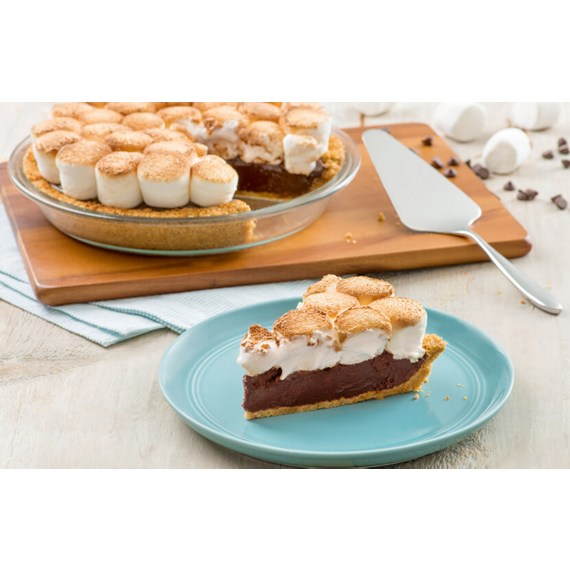 Peanut Butter HERSHEY'S S'MORES Pie Recipe