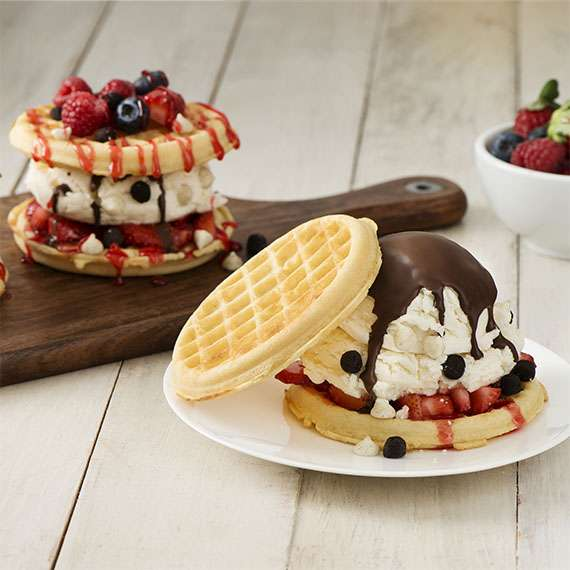 Berry Delicious Waffle