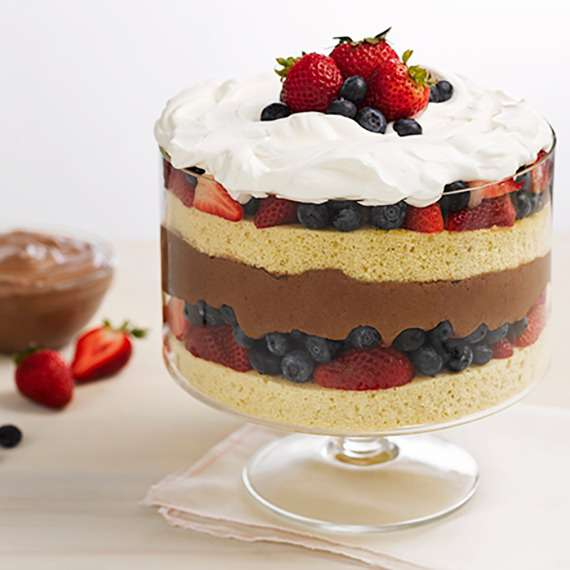 Chocolate Mousse Trifle