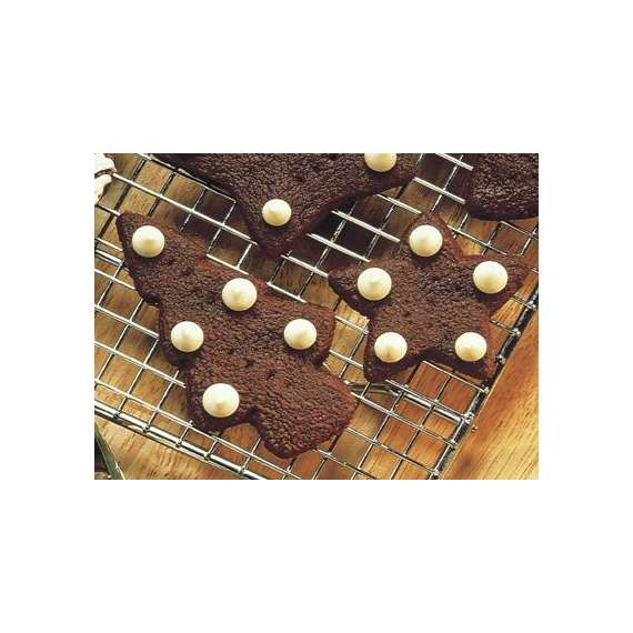 Holiday Chocolate Shortbread Cookies