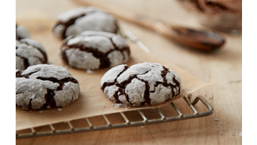 Cocoa Crinkle Cookies