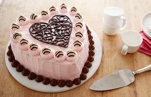 Schön HERSHEYu0027S HUGS U0026 KISSES Valentineu0027s Cake