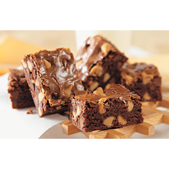 Double Chip Brownies
