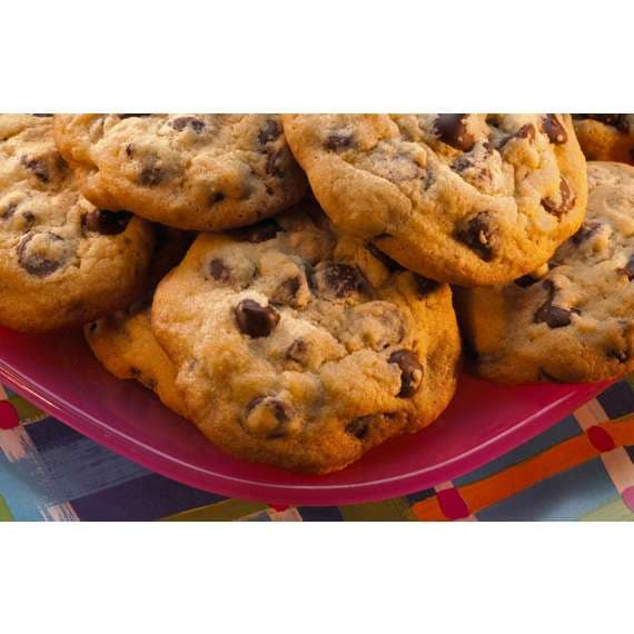 Chocolate Chip Cookies made with HERSHEY'S SPECIAL DARK Chocolate Chips