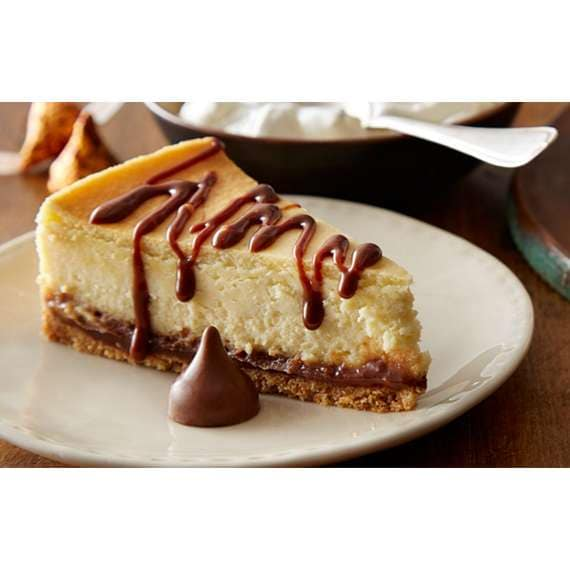 KISSES Caramel Cheesecake