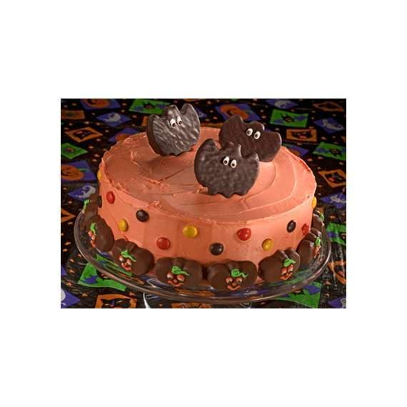 Pumpkin Parade Halloween Cake