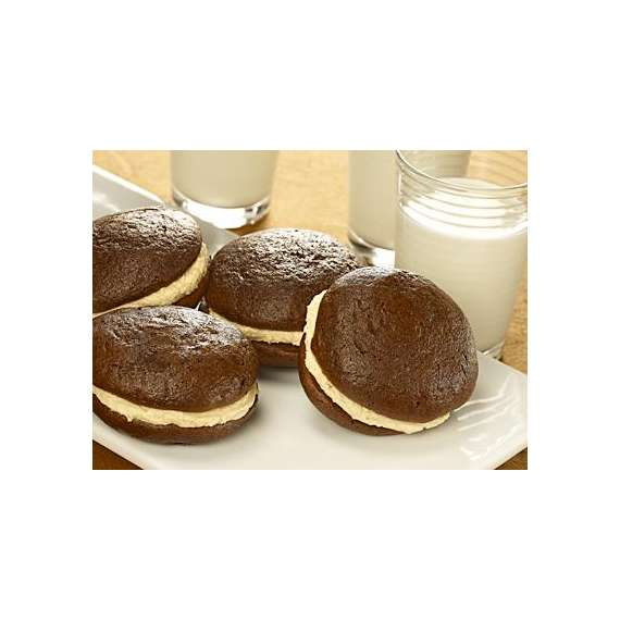 Peanut Butter-Filled Whoopie Pies