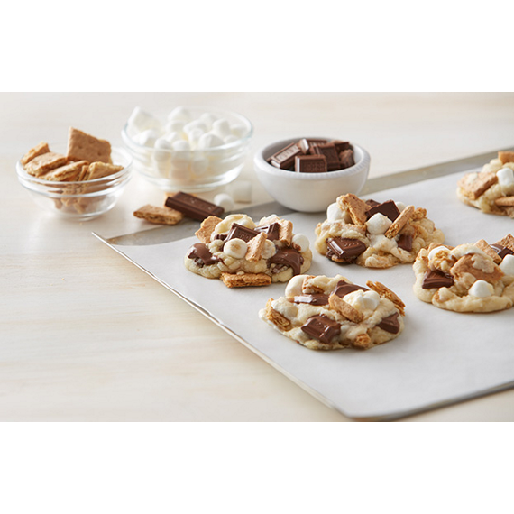 S'mores Cookie Drops