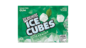 ICE BREAKERS ICE CUBES Blister Packs