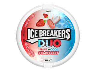 ICE BREAKERS DUO Mints Strawberry