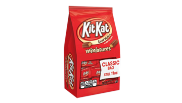 KIT KAT<sup>®</sup> Milk Minis Stand Up Pouch, 11 oz.