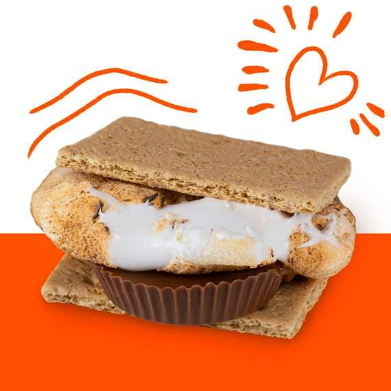 REESE'S Campfire Cup S'more