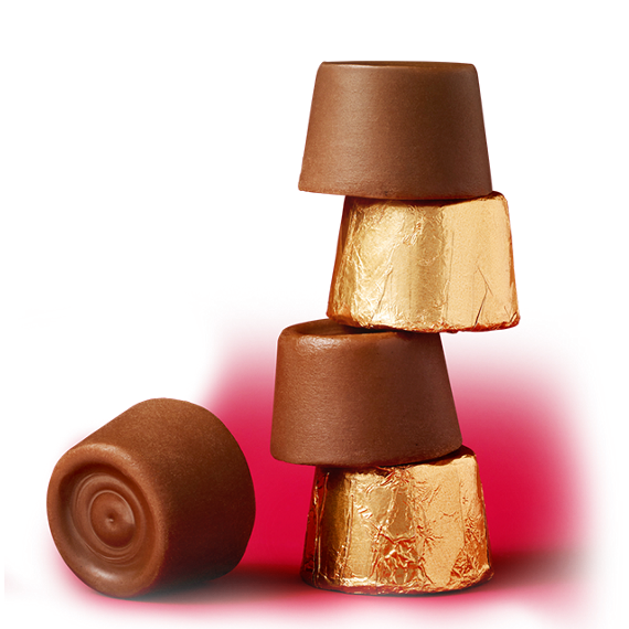 ROLO Caramels in Milk Chocolate stacked