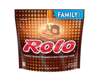 ROLO<sup>®</sup> Creamy Caramels in Chocolate Candy