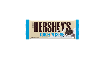 HERSHEY'S Cookies 'n' Creme Candy Bars