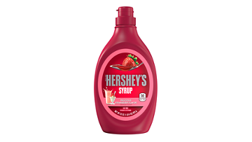 HERSHEY'S Strawberry Flavored Syrup