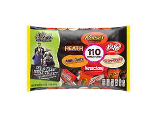 Hershey Halloween Miniatures Assorted Chocolate Candy