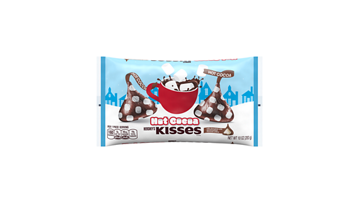 HERSHEY'S KISSES Holiday Hot Cocoa With Marshmallow Creme