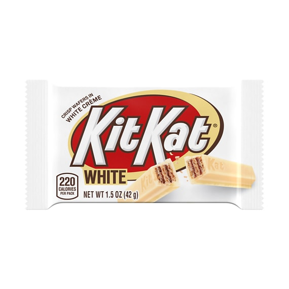 Kit Kat White Bars Product Nutrition